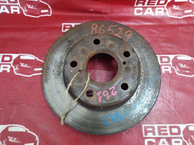 Тормозной диск Toyota Camry CV30-0009311 2C-1698817 1990 передний (б/у)