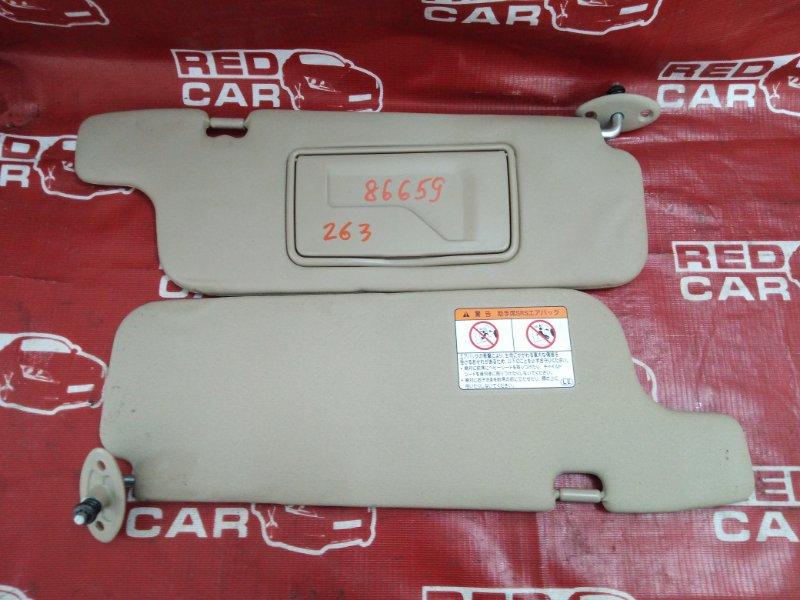 Козырек солнцезащитный Toyota Platz NCP16-0022564 2NZ-3605672 2005 (б/у)