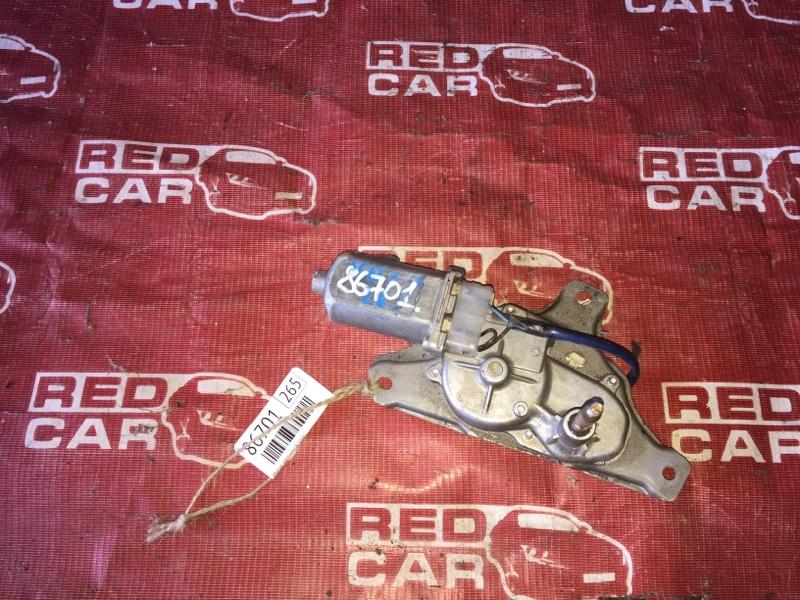 Мотор дворников Toyota Porte NNP11-5016639 1NZ-C636436 2007 задний (б/у)