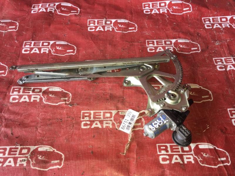 Стеклоподъемник Toyota Vitz KSP90-5057608 1KR-0247076 2006 передний левый (б/у)