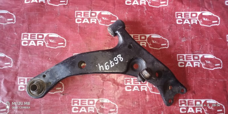 Рычаг Toyota Carib AE111-7071013 4A-H371642 1999 передний правый (б/у)