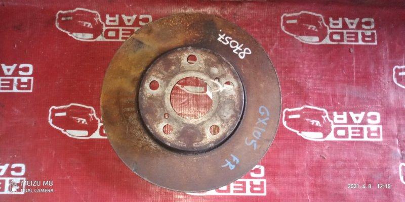 Тормозной диск Toyota Mark Ii GX105 передний (б/у)