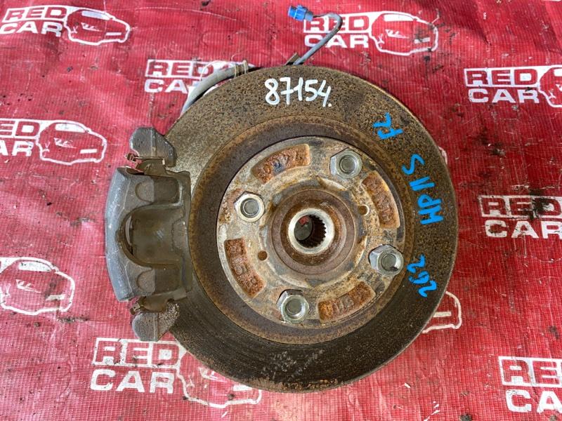 Ступица Mazda Laputa HP11S-601060 F6A-2624121 1999 передняя левая (б/у)