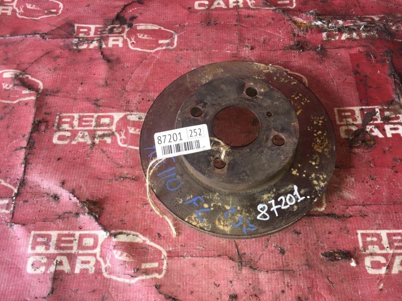Тормозной диск Toyota Sprinter AE110-0062450 5A-C230682 1996 передний (б/у)
