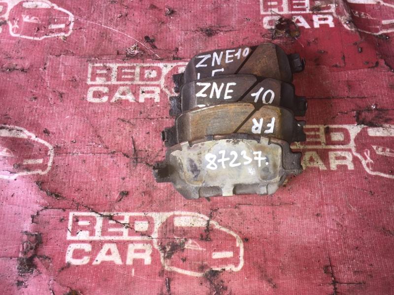 Тормозные колодки Toyota Wish ZNE10 переднее (б/у)