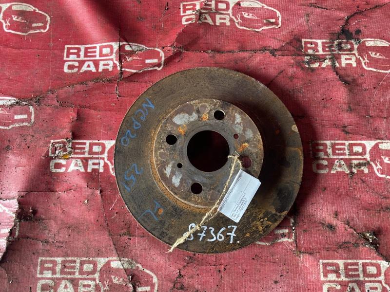 Тормозной диск Toyota Funcargo NCP20-0200341 2NZ-1919466 2001 передний (б/у)