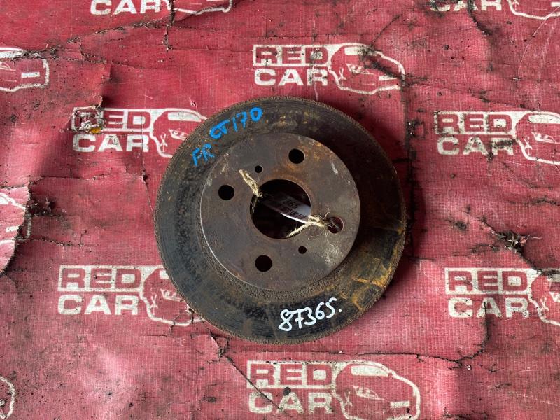 Тормозной диск Toyota Carina CT170 передний (б/у)