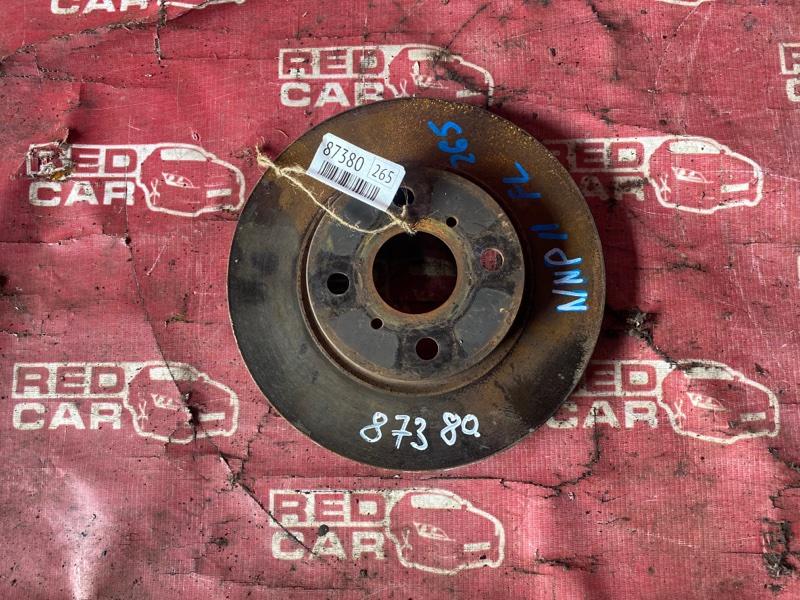 Тормозной диск Toyota Porte NNP11-5016639 1NZ-C636436 2007 передний (б/у)