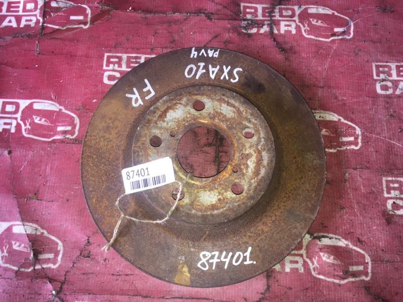 Тормозной диск Toyota Rav4 SXA10 передний (б/у)