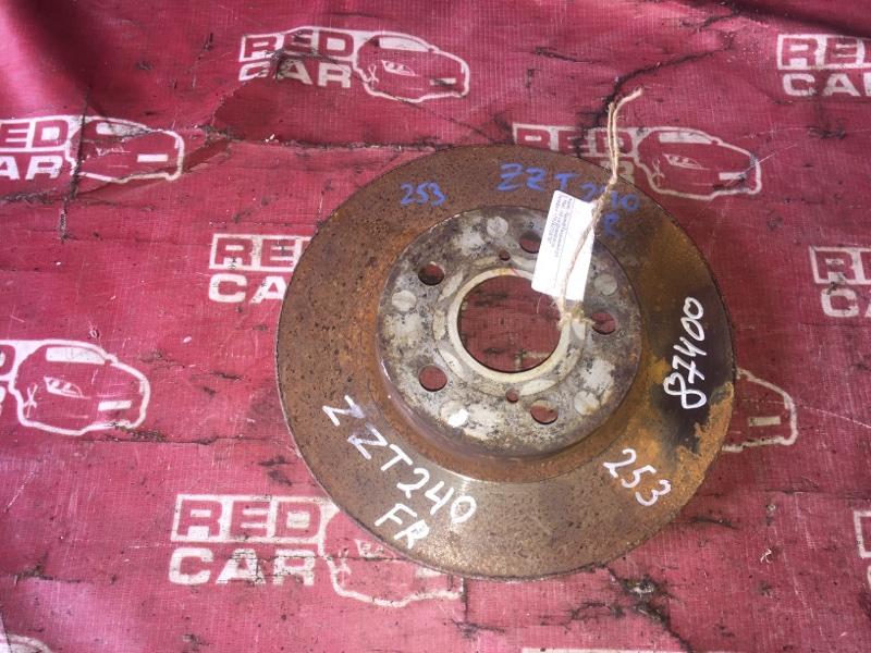Тормозной диск Toyota Allion ZZT240-5011800 1ZZ-A039027 2003 передний (б/у)