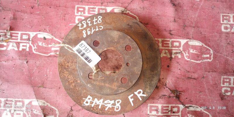 Тормозной диск Toyota Caldina CT198 передний (б/у)