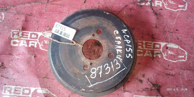Тормозной барабан Toyota Vitz NCP15 задний (б/у)