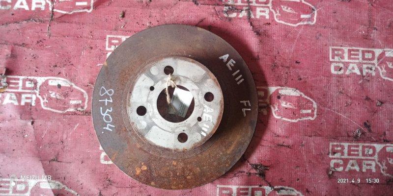 Тормозной диск Toyota Corolla Spacio AE111 передний (б/у)