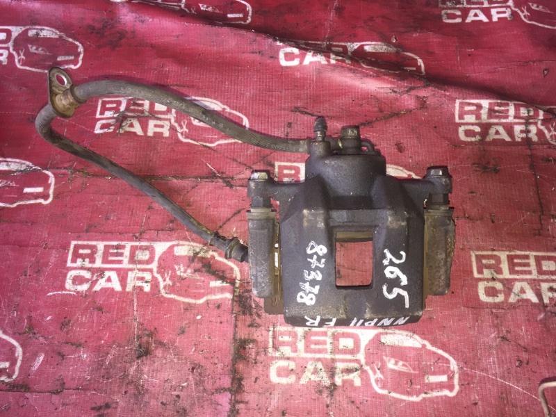 Суппорт Toyota Porte NNP11-5016639 1NZ-C636436 2007 передний правый (б/у)