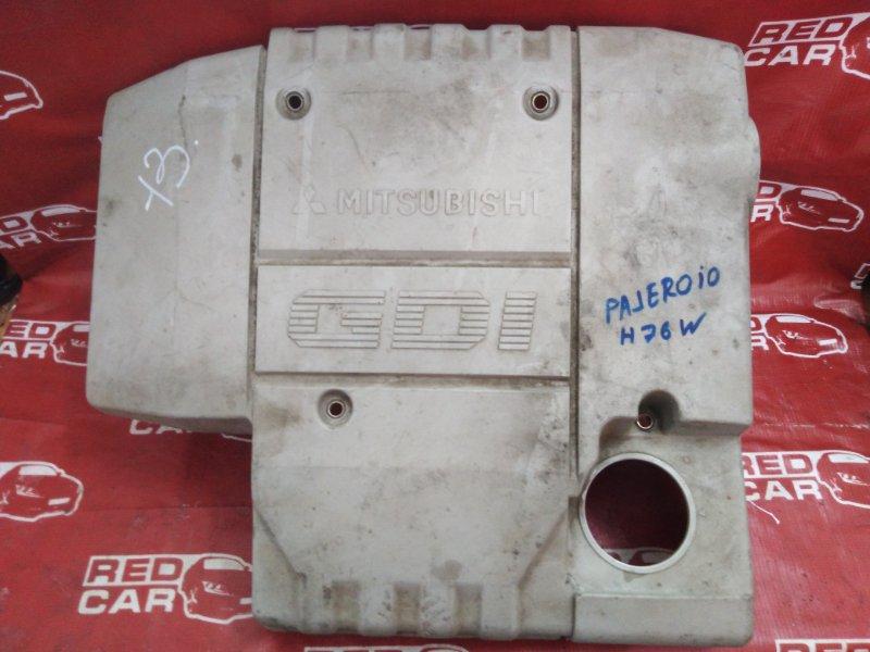 Декоративная крышка двс Mitsubishi Pajero Io H76W 4G93 (б/у)