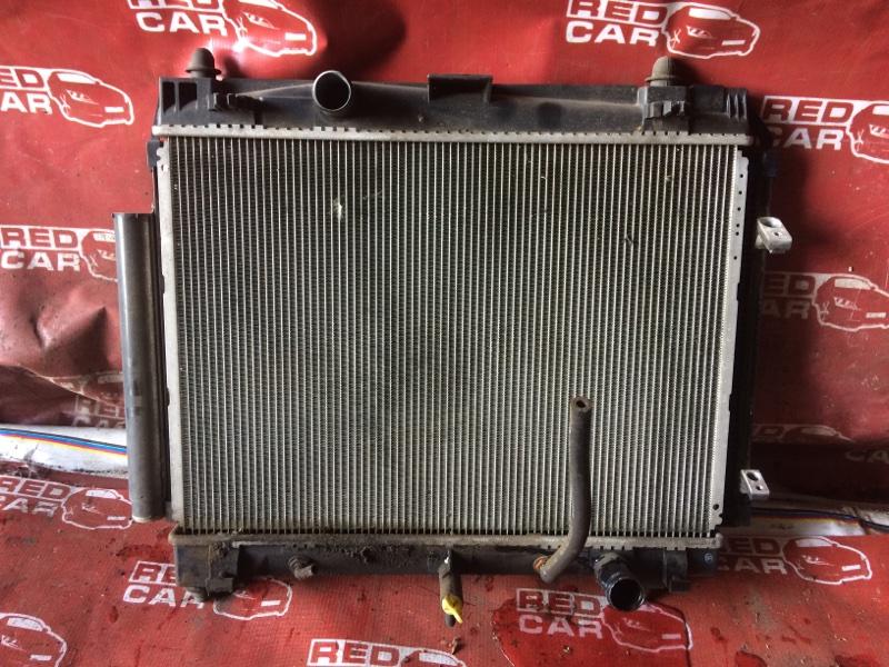 Радиатор основной Toyota Vitz NCP90 1NZ (б/у)