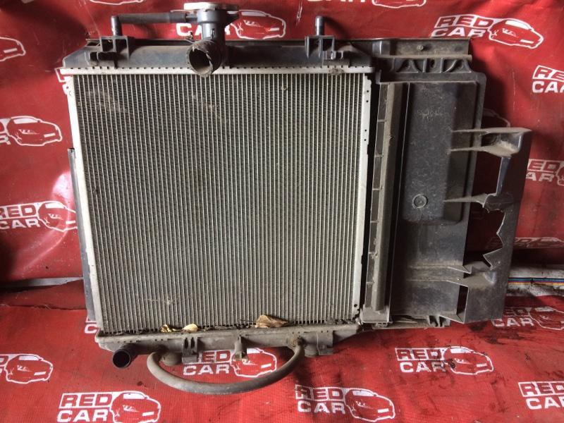 Радиатор основной Toyota Passo Sette M205E (б/у)