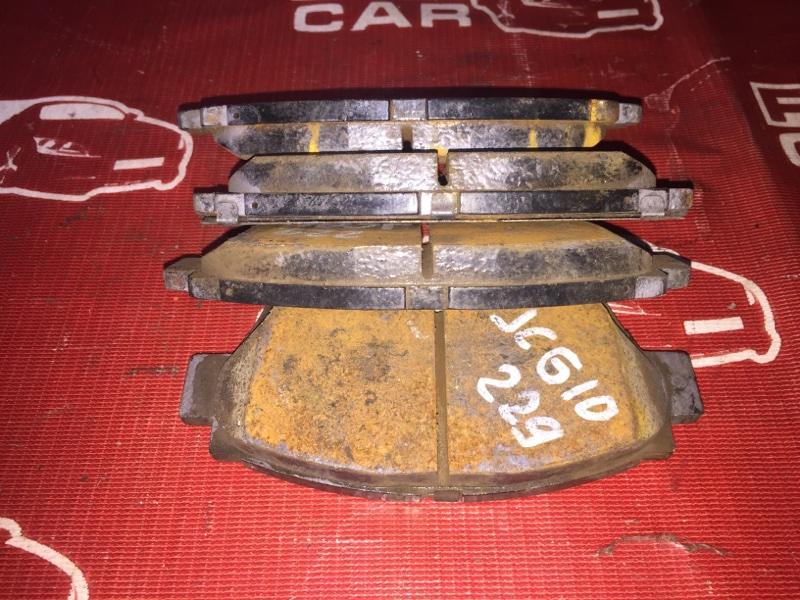 Тормозные колодки Toyota Progres JCG10-0016564 1JZ 1999 переднее (б/у)