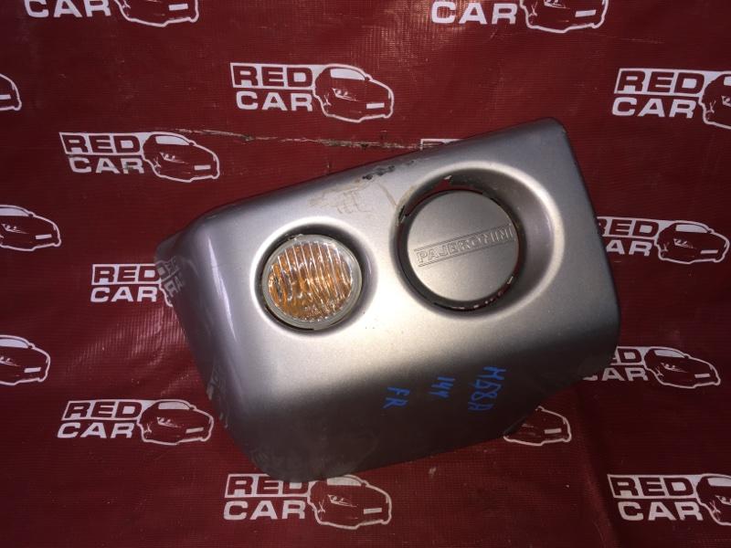 Клык бампера Mitsubishi Pajero Mini H58A-0407550 4A30 2003 правый (б/у)
