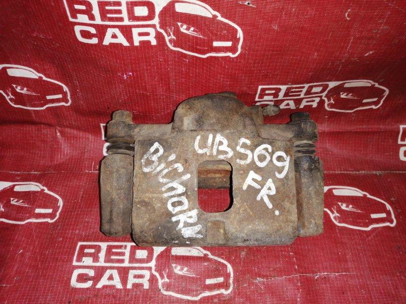 Суппорт Isuzu Bighorn UBS69 передний правый (б/у)