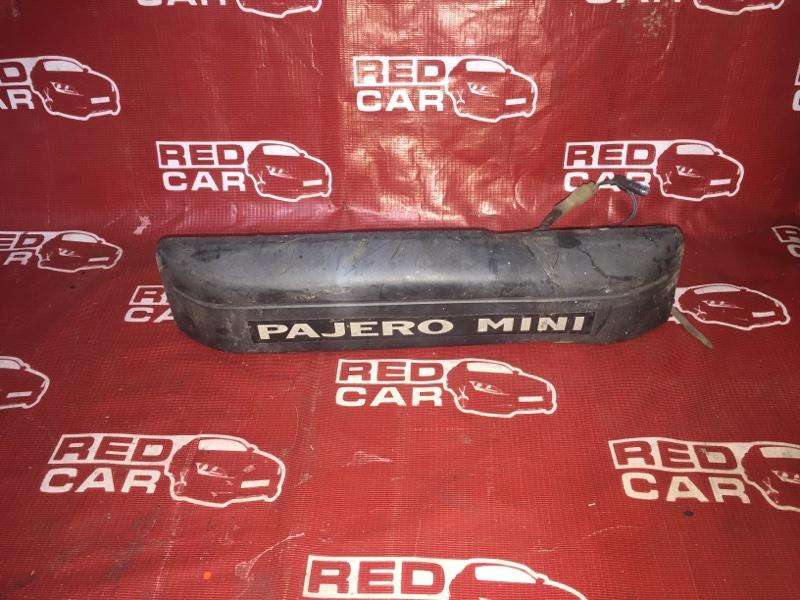 Накладка 5-й двери Mitsubishi Pajero Mini H58A 4A30 (б/у)