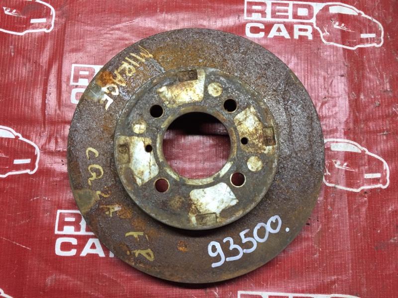 Тормозной диск Mitsubishi Dingo CQ2A передний (б/у)