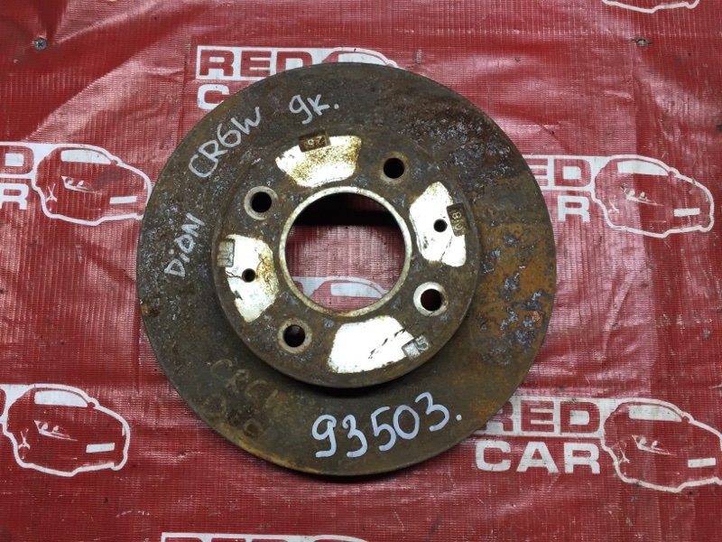 Тормозной диск Mitsubishi Dion CR6W передний (б/у)