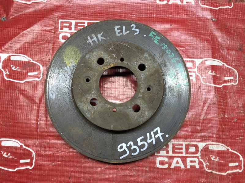 Тормозной диск Honda Orthia EL3 передний (б/у)