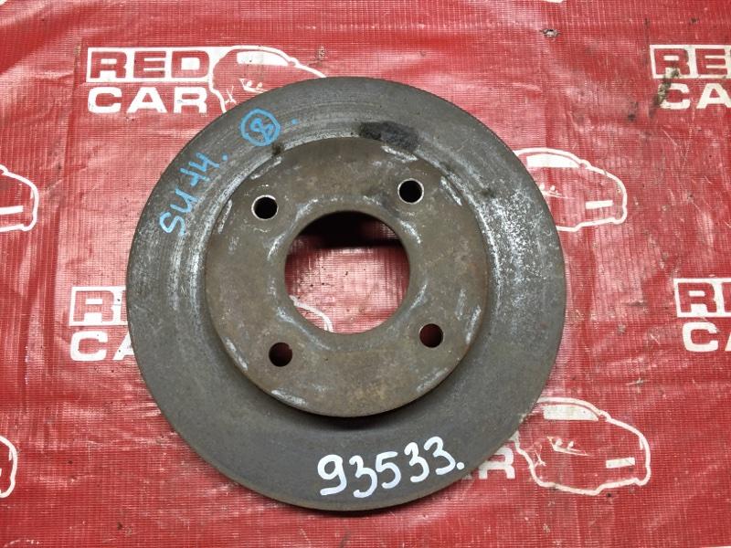 Тормозной диск Nissan Bluebird SU14 передний (б/у)
