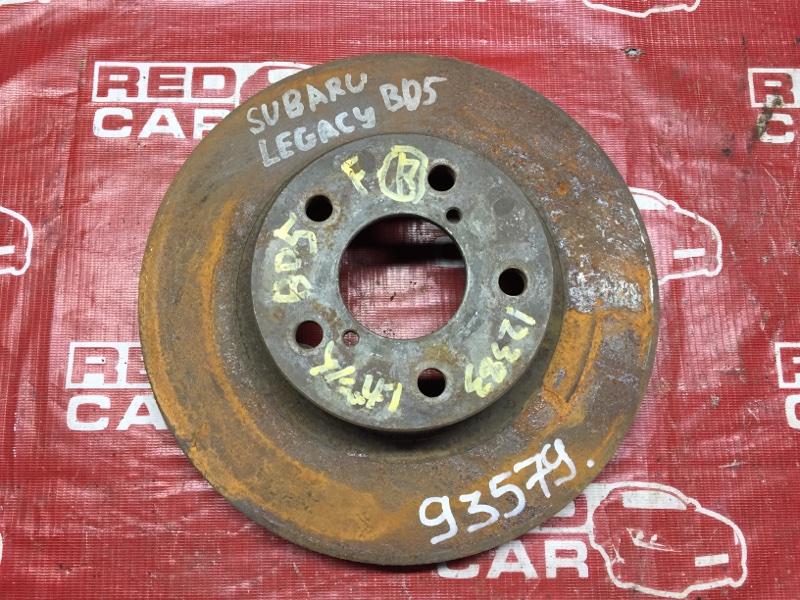 Тормозной диск Subaru Legacy BD5 передний (б/у)