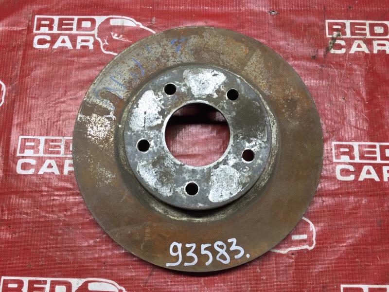 Тормозной диск Nissan Avenir PNW11 передний (б/у)