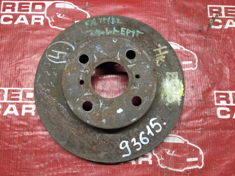 Тормозной диск Toyota Starlet EP95 передний (б/у)
