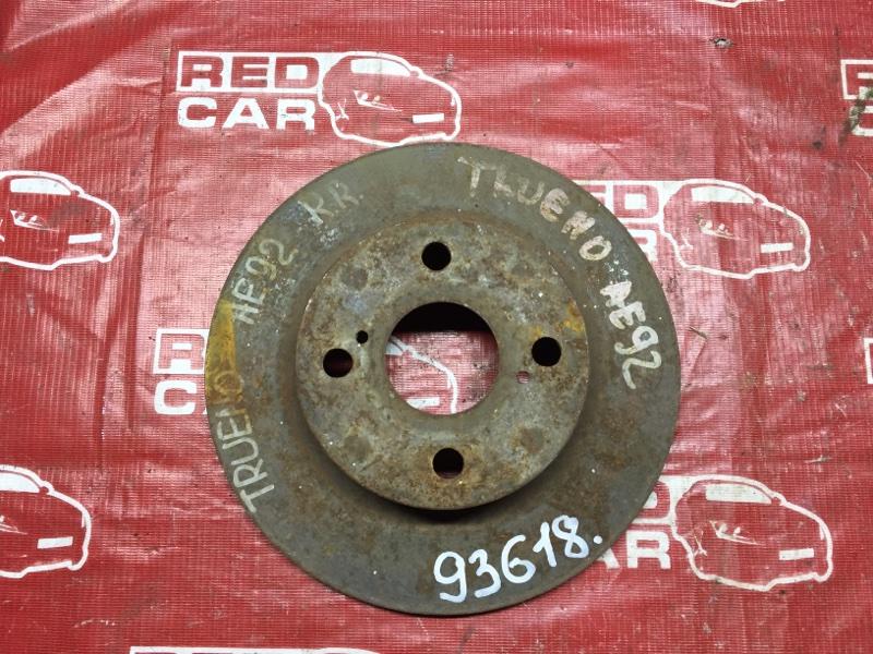 Тормозной диск Toyota Sprinter Trueno AE92 задний (б/у)