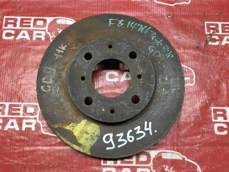 Тормозной диск Honda Fit Aria GD9 передний (б/у)