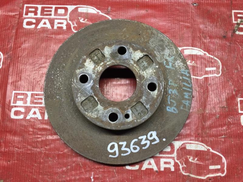 Тормозной диск Mazda Familia BJ3P передний (б/у)