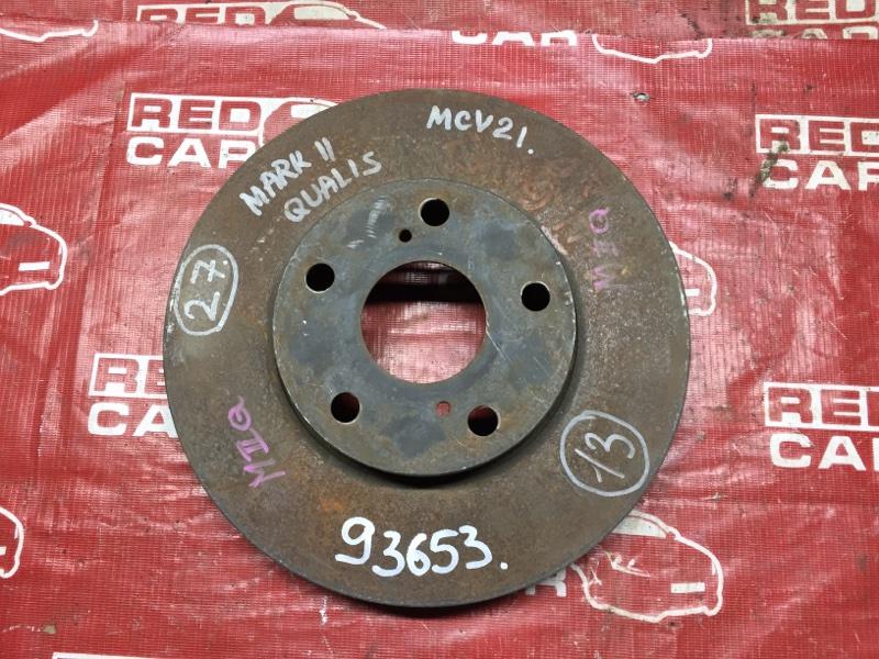 Тормозной диск Toyota Mark Ii Qualis MCV20 передний (б/у)