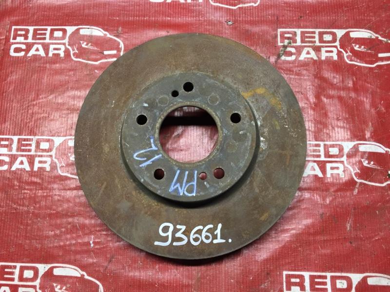 Тормозной диск Nissan Liberty PM12 передний (б/у)