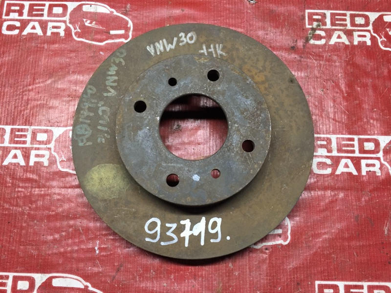 Тормозной диск Nissan Largo VNW30 передний (б/у)