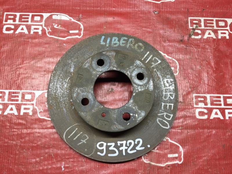 Тормозной диск Mitsubishi Libero CD2A передний (б/у)