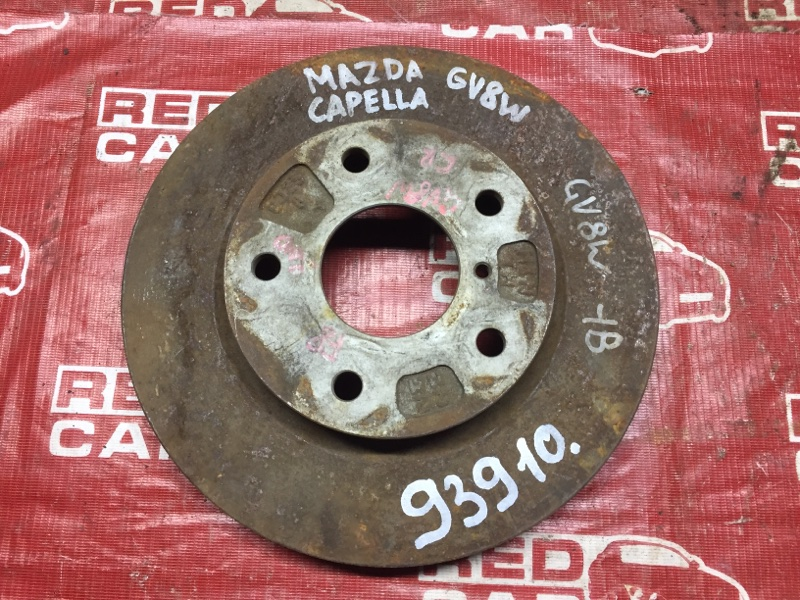 Тормозной диск Mazda Capella CV8W передний (б/у)