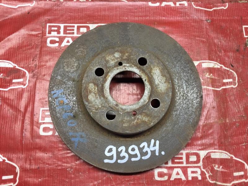 Тормозной диск Toyota Ist NCP60 передний (б/у)