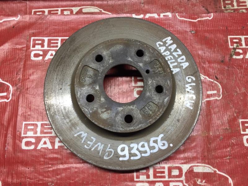 Тормозной диск Mazda Capella GWER передний (б/у)