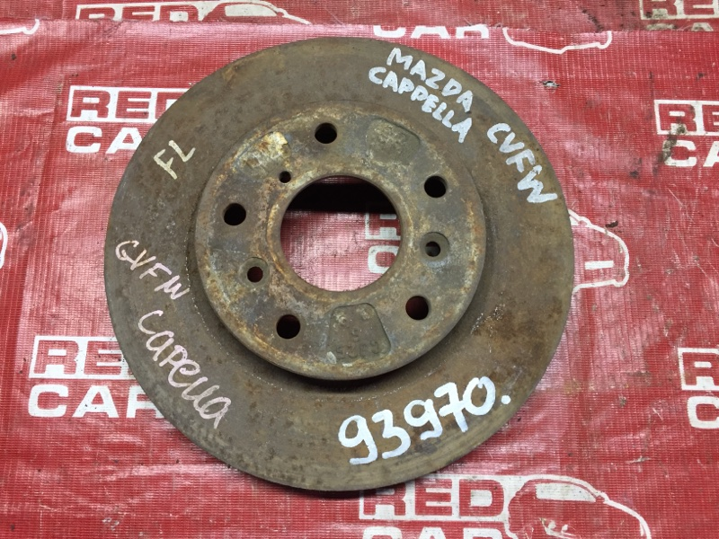 Тормозной диск Mazda Capella GV8W передний (б/у)