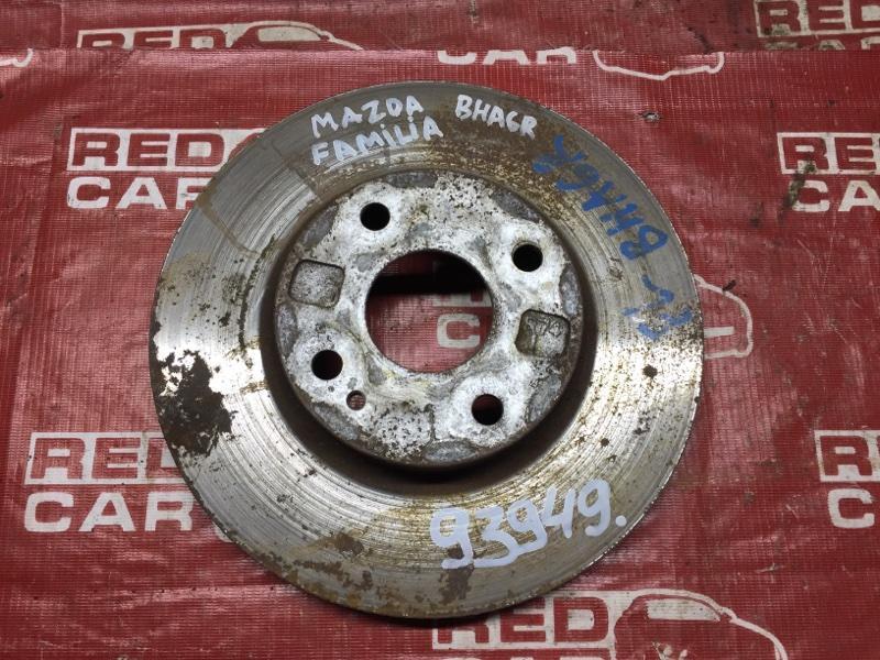Тормозной диск Mazda Familia BHA6R передний (б/у)
