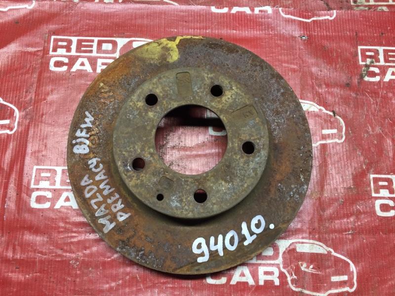 Тормозной диск Mazda Capella CP8W передний (б/у)