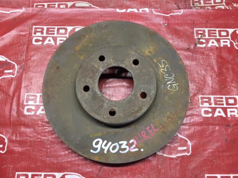 Тормозной диск Nissan Skyline GNC35 передний (б/у)