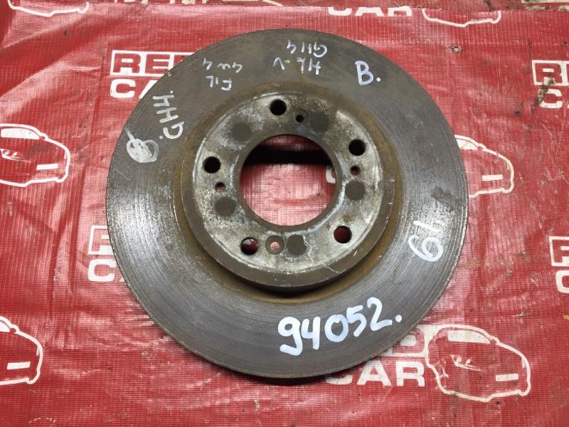 Тормозной диск Honda Hr-V GH4 передний (б/у)
