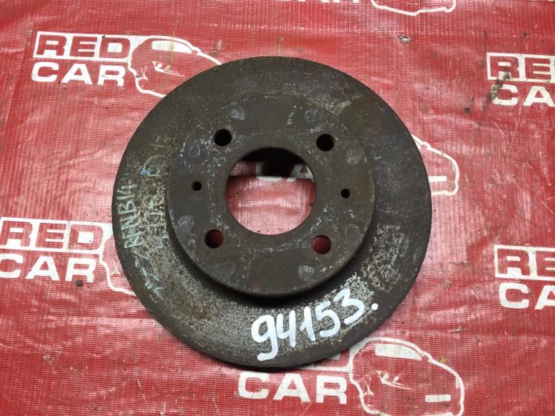 Тормозной диск Nissan Rasheen RFNB14 передний (б/у)
