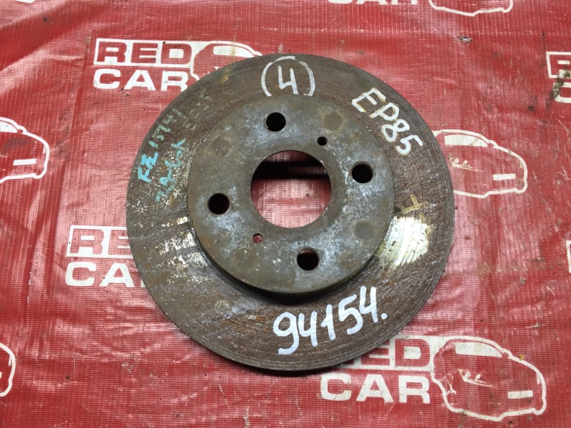 Тормозной диск Toyota Starlet EP81 передний (б/у)