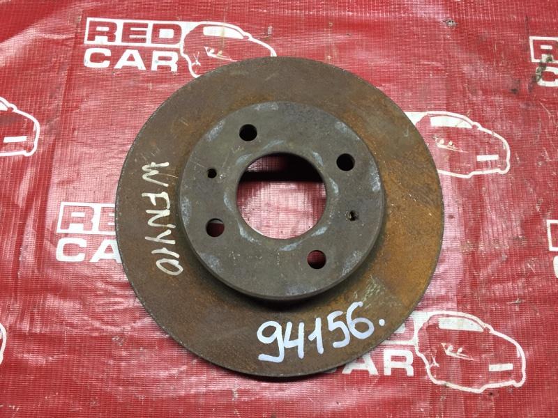 Тормозной диск Nissan Wingroad VENY10 передний (б/у)